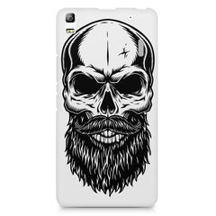 Skull with the beard  design,  Lenovo K3 Note/A7000 printed back cover