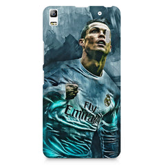 Oil painted ronaldo  design,  Lenovo K3 Note/A7000 printed back cover