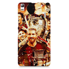 Messi  design,  Lenovo K3 Note/A7000 printed back cover