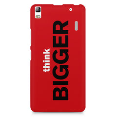 Think Bigger- For Entrepreneurs design,  Lenovo K3 Note/A7000 printed back cover