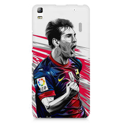 Messi illustration design,  Lenovo K3 Note/A7000 printed back cover