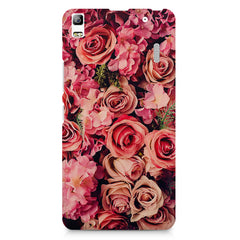 Roses  design,  Lenovo K3 Note/A7000 printed back cover