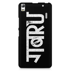 Gabru hindi quirky  design,  Lenovo K3 Note/A7000 printed back cover