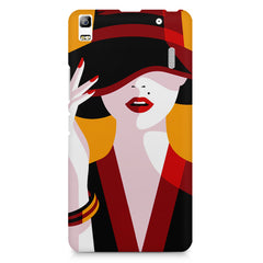 Classy girl  design,  Lenovo K3 Note/A7000 printed back cover