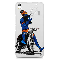 Puff pass  Lenovo K3 Note/A7000 printed back cover