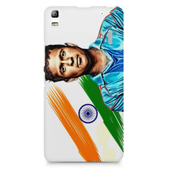 Sachin Tendulkar blue  Lenovo K3 Note/A7000 printed back cover