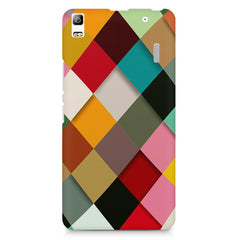 Graphic Design diamonds   Lenovo K3 Note/A7000 printed back cover