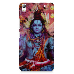 Shiva painted design Lenovo K3 Note/A7000 printed back cover