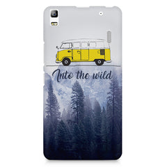 Into the wild for travel Wanderlust people Lenovo K3 Note/A7000 printed back cover
