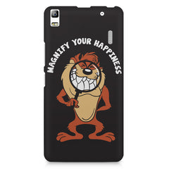 Magnify Your Happiness funny design Lenovo K3 Note/A7000 printed back cover