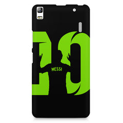 Lionel Messi 10 Victory  design,  Lenovo K3 Note/A7000 printed back cover