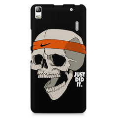 Skull Funny Just Did It !  design,  Lenovo K3 Note/A7000 printed back cover