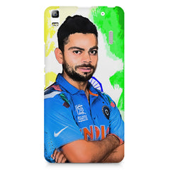 Virat Kohli Oil Painting India design,  Lenovo K3 Note/A7000 printed back cover