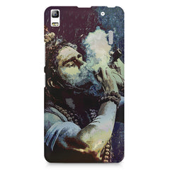 Smoking weed design Lenovo K3 Note/A7000 printed back cover