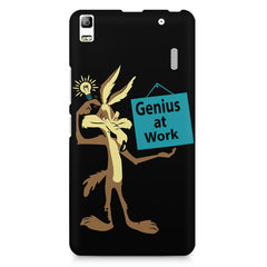 Genius at work design Lenovo K3 Note/A7000 printed back cover