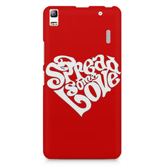Spread some love design Lenovo K3 Note/A7000 printed back cover