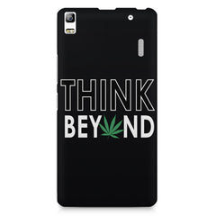 Think beyond weed design Lenovo K3 Note/A7000 printed back cover