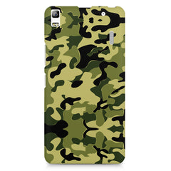 Camoflauge army color design Lenovo K3 Note/A7000 printed back cover