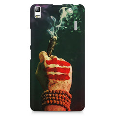 Smoke weed (chillam) design Lenovo K3 Note/A7000 printed back cover