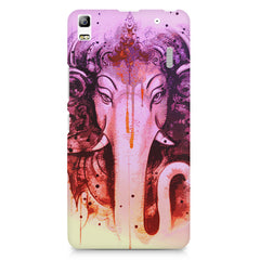 Lord Ganesha design Lenovo K3 Note/A7000 printed back cover