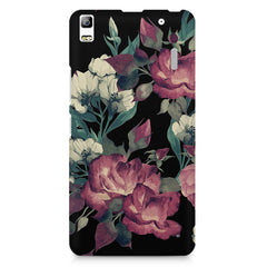 Abstract colorful flower design Lenovo K3 Note/A7000 printed back cover