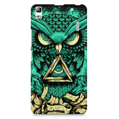 Owl Art design,  Lenovo K3 Note/A7000 printed back cover