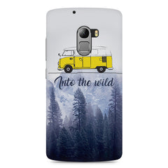 Into the wild for travel Wanderlust people Lenovo K4 Note printed back cover