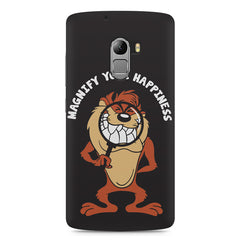 Magnify Your Happiness funny design Lenovo K4 Note printed back cover