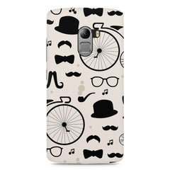 Retro theme for classic men Lenovo K4 Note printed back cover