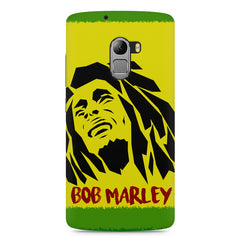 Black bob marley  Lenovo K4 Note printed back cover