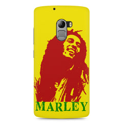 Red Bob Marley being high Lenovo K4 Note printed back cover