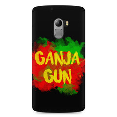 Ganja Gun being high Lenovo K4 Note printed back cover