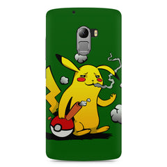 Pikachu Smoker  Lenovo K4 Note printed back cover