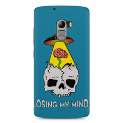 Losing my mind funny design Lenovo K4 Note printed back cover