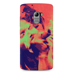 Smoke your problems away Lenovo K4 Note printed back cover