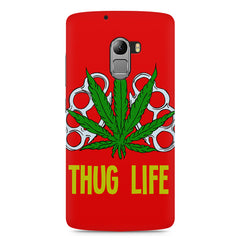Thug life  Lenovo K4 Note printed back cover