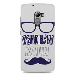 Pehchan kaun?  design,  Lenovo K4 Note printed back cover