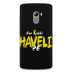 Aao kabhi haveli pe  design,  Lenovo K4 Note printed back cover