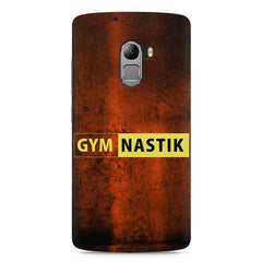 Gym nastik  design,  Lenovo K4 Note printed back cover