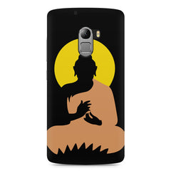 Gautam Buddha   design,  Lenovo K4 Note printed back cover