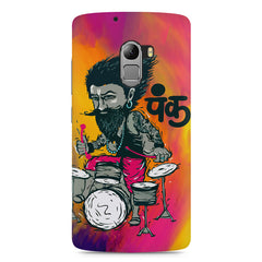 Punk baba drumroll  design,  Lenovo K4 Note printed back cover