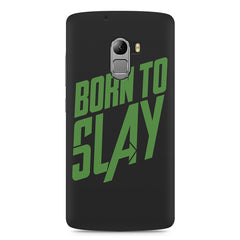 Born to Slay Design Lenovo A7010 hard plastic printed back cover