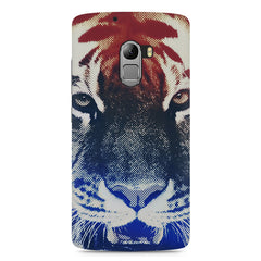 Pixel Tiger Design Lenovo A7010 hard plastic printed back cover