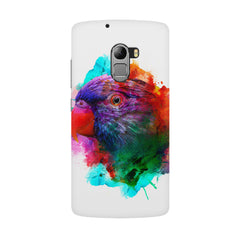 Colourful parrot design Lenovo K4 Note hard plastic all side printed back cover.