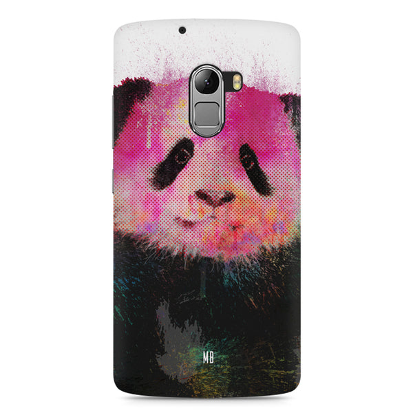 Polar Bear portrait design Lenovo A7010 hard plastic printed back cover