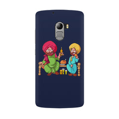 Punjabi sardars with chicken and beer avatar Lenovo K4 Note hard plastic all side printed back cover.