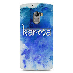 Karma Lenovo A7010 hard plastic printed back cover