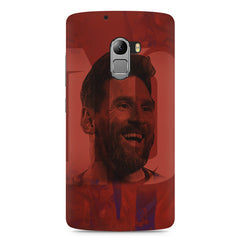 Messi jersey 10 blended design Lenovo A7010 hard plastic printed back cover