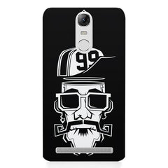Black Swagger no. 99  Lenovo K5 note printed back cover
