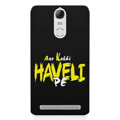 Aao kabhi haveli pe  design,  Lenovo K5 note printed back cover